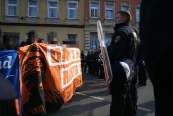 Polizeibegrenzung am Zöllnerplatz