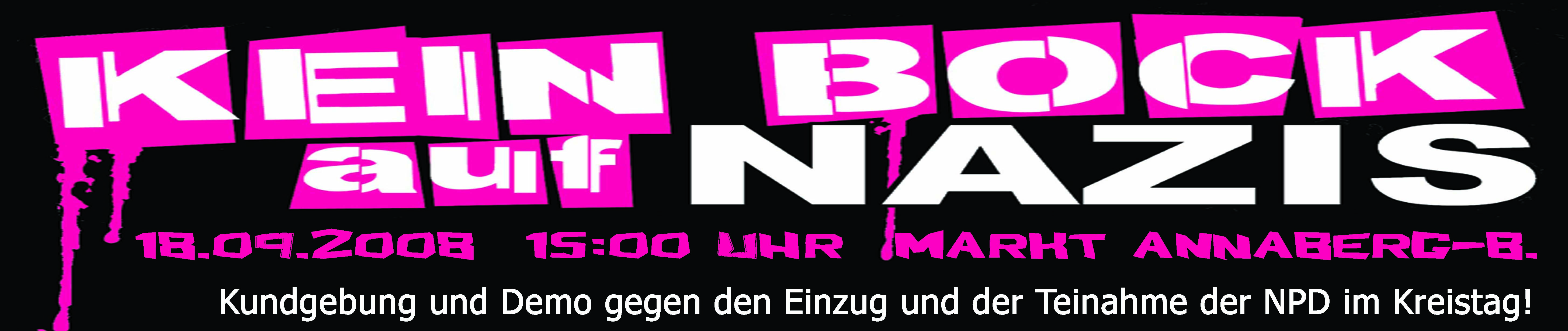 Banner Annaberg-B. 18.9.