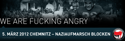 We Are Fucking Angry!